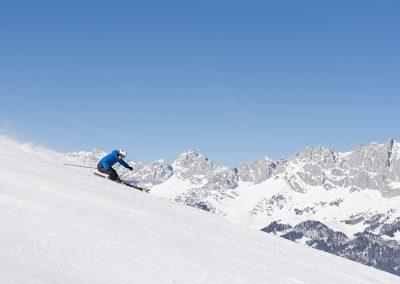 Skifahrer m Kaiser